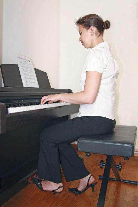 Position corps du pianiste